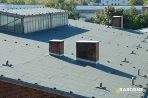 Low Sloped Commercial Roof
