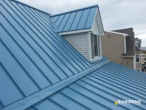 House After a Metal Roof Installation