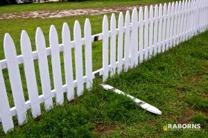 Fence Needing Fence Repair