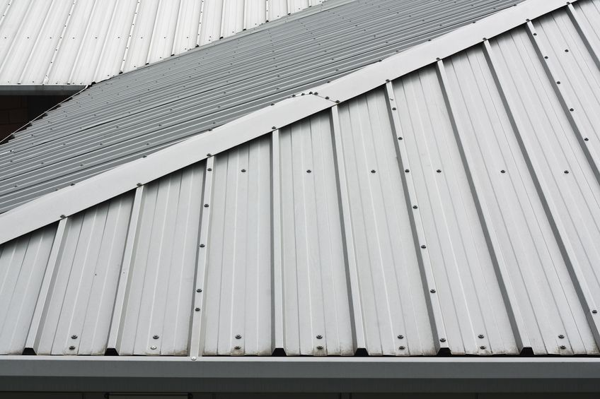 Corrugated Metal Roof Installation